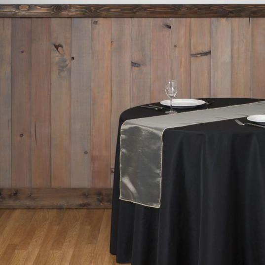 Silver Organza Table Runner