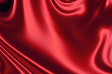 Red Stain Curtain