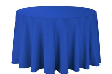 "108"" Royal Blue Tablecloth"