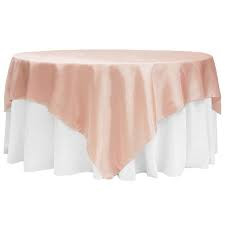 Blush Satin Overlay
