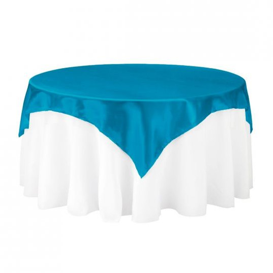 Caribbean Satin Table Overlay