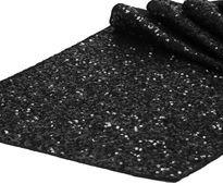 Black Sequins Table Runner