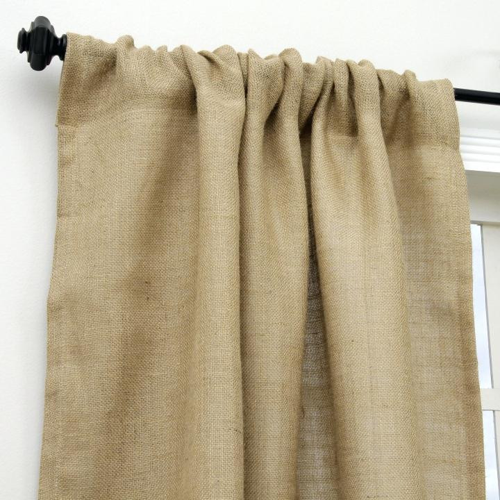 Burlap Curtains