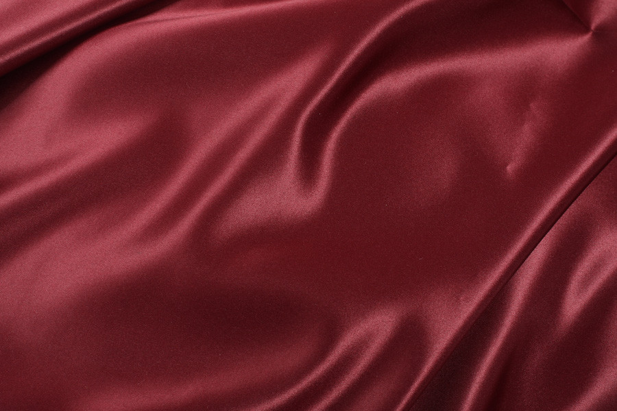 Burgundy Stain Curtain