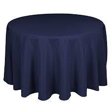 "120"" Navy Blue Tablecloth"