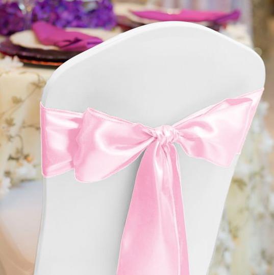 Light Pink Satin Sash