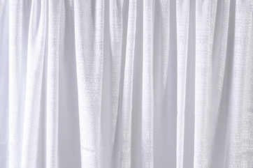 White Banjo Curtain
