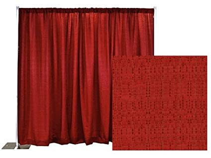 Red Banjo Curtain