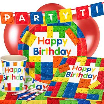 Lego - Blocks Party Supplies