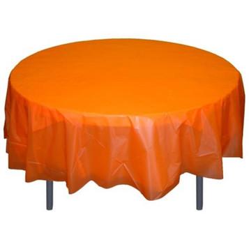 Round Plastic Table Cloth