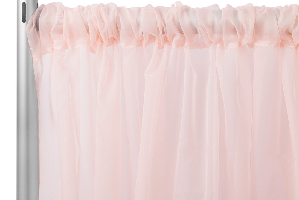Blush Sheer Curtain