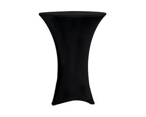 Black Coctail Stretch Tablecloth
