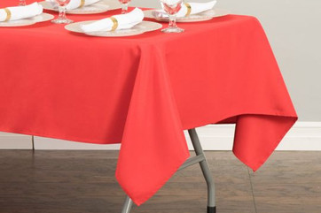 """60x126"""" Red Tablecloth"""