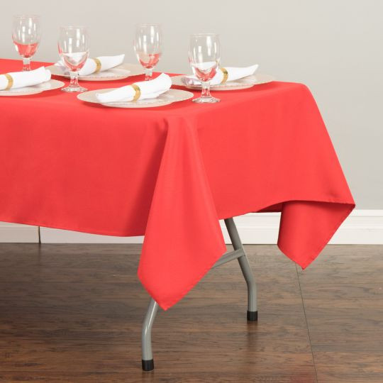 "60x126"" Red Tablecloth"