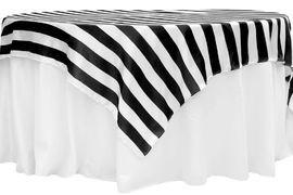 Black & White Stripped Overlay