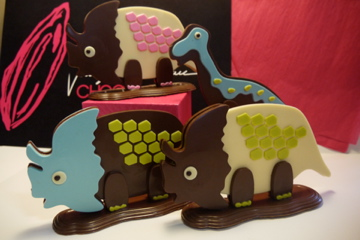 chocolat de pâques dinosaure