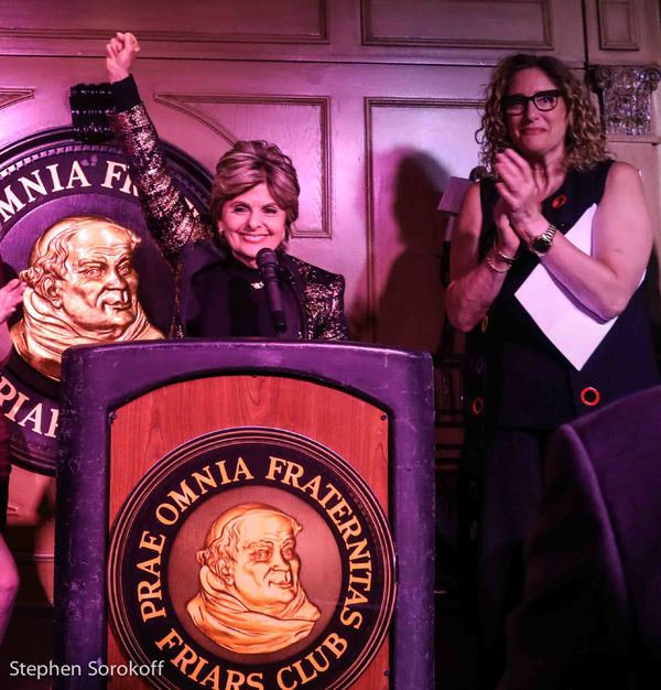 Gloria Allred's roast at the Friars Club 'brought the house