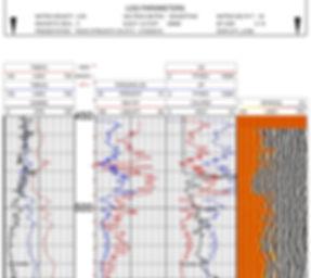 demo sonic log parameters