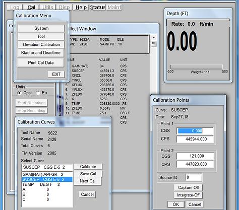 Log Tool Calibration