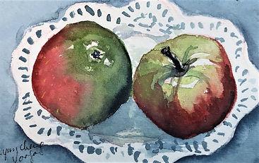 Apples with placemat Lynn Cheng Varga.jpeg