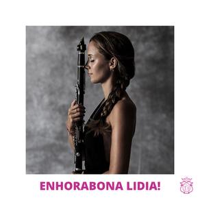Enhorabona Lidia!