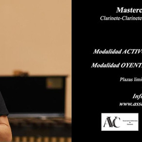 Masterclass de clarinet amb Edu Raimundo
