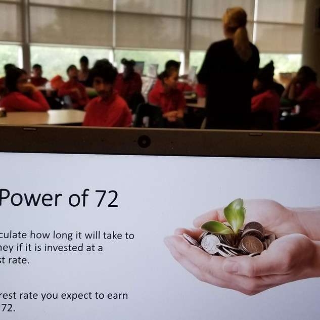 Learning about the power of 72