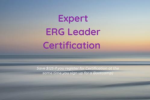 Expert ERG Leader CERTIFICATION