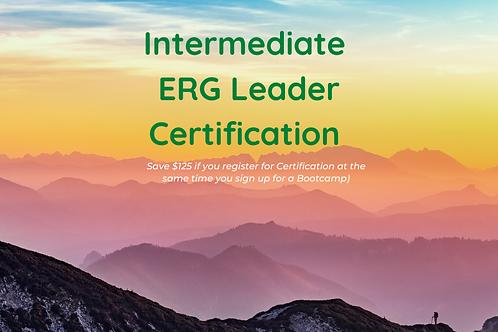 Intermediate ERG Leader CERTIFICATION