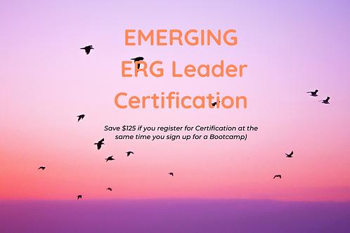 Emerging ERG Leader CERTIFICATION