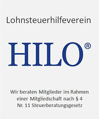Lohnsteuerhilfeverein HILO, wir beraten Miglieder im Rahmen ener Mitgliedschaft nach §4 Nr 11 Steueberatungsgesetz