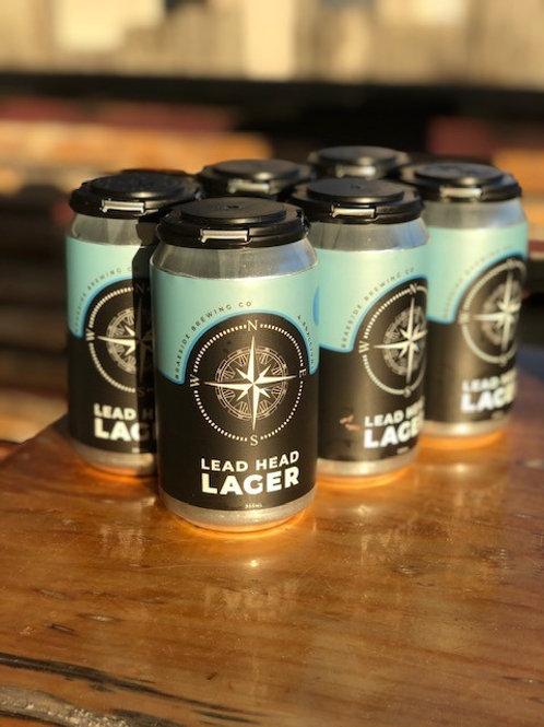 6 x Braeside Brewing Co Lead Head Lager