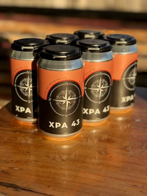 6 x Braeside Brewing Co XPA 43