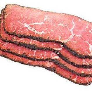 Pastrami Sliced 500g pkt ($19.99 / kg)
