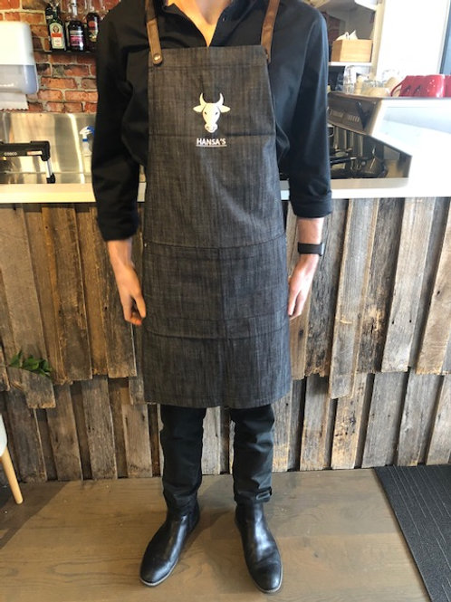 Hansa's Steak & Grill Full Apron