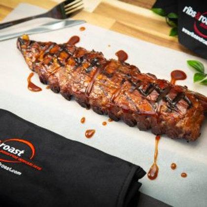 Sous Vide USA Style Pork Ribs