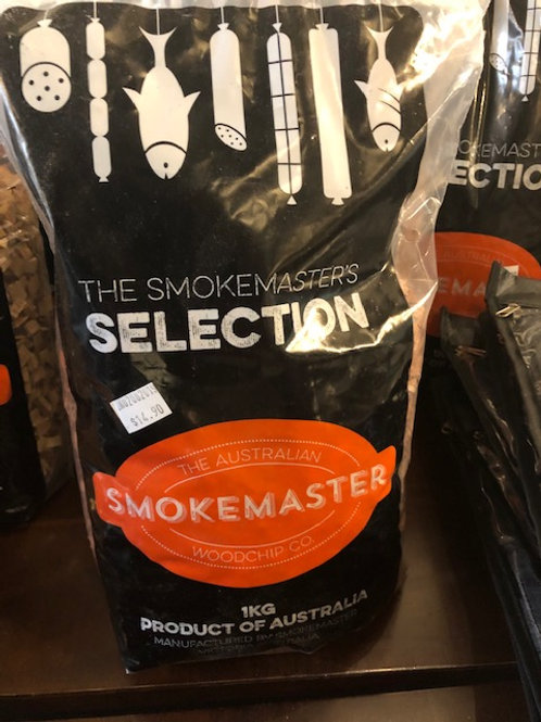 Smokemaster Red Gum Woodchips 1kg