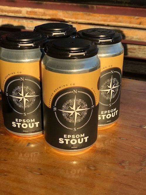 4 x Braeside Brewing Co Epsom Stout