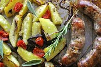 Pork & Fennel Sausages ($17.99 kg)
