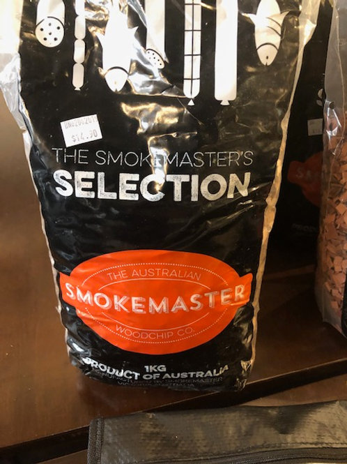 Smokemaster Mountain Ash Woodchips 1kg