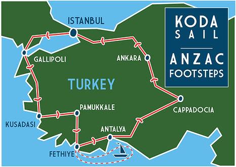 KODA SAIL ANZAC TOUR