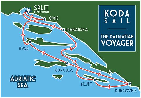 KODA SAIL Croatia Dalmatian Voyager