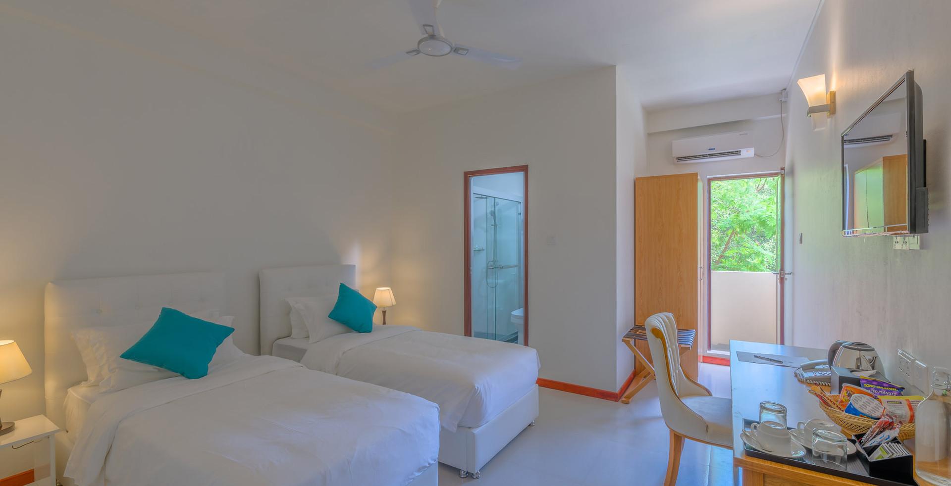 Twin Share Hotel Room