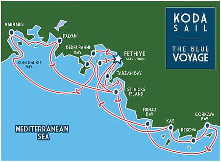 KODA SAIL Blue Voyage