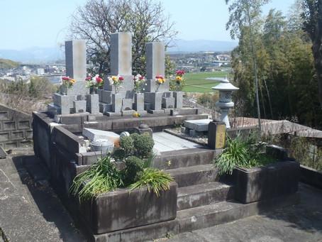 修復&お墓のクリーニング!