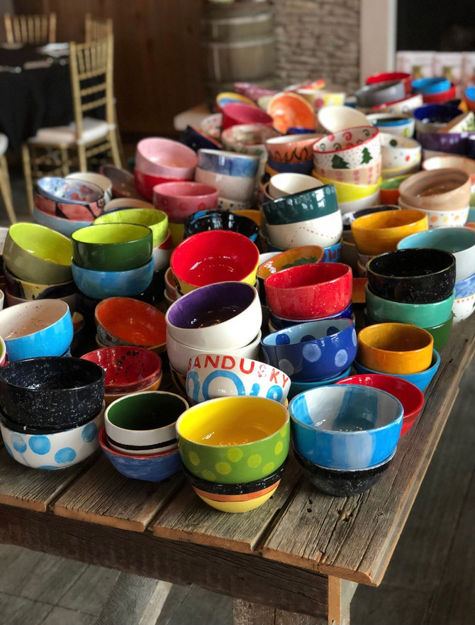 Empty Bowls is going Virtual!