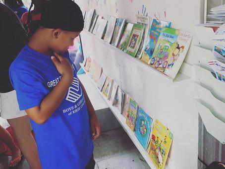 Last bookmobile of summer 2019!