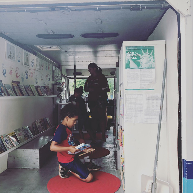 Bookmobile #1 of 2018