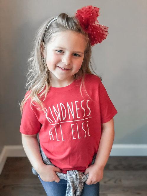 KIDS- Kindness Above All Else- Red