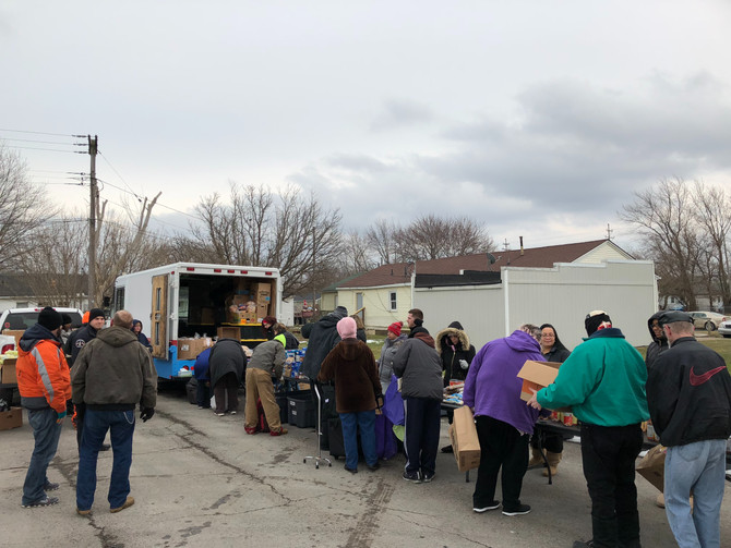 Mobile Food Pantry (Feb. 1)